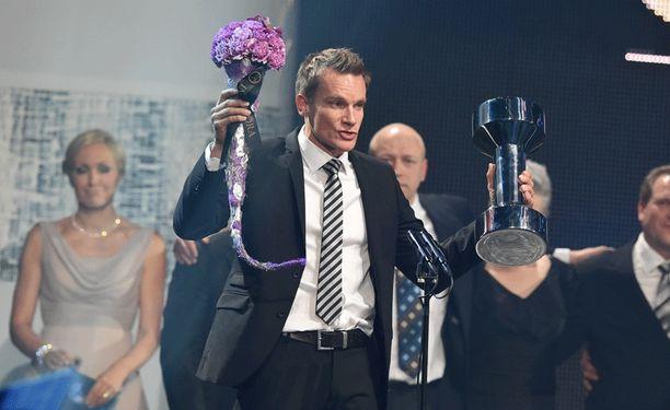 Tuomas Sammelvuo valittiin Vuoden valmentajaksi.