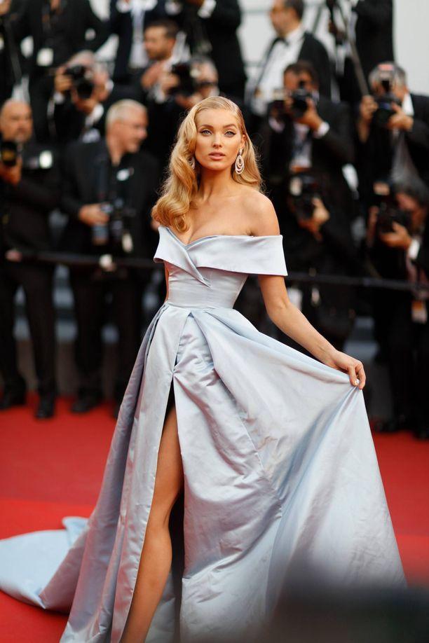 Elsa Hosk Cannesin elokuvajuhlilla vuonna 2017.