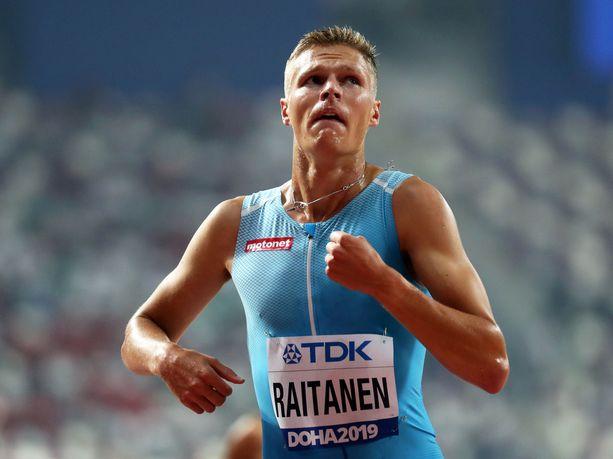 Topi Raitanen avasi kautensa Lahdessa. Kuva Dohan MM-kisoista.