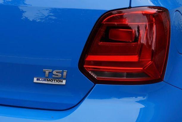 1.2-litrainen 110-hevosvoimainen turbomoottori sopii hyvin tähän kevyeen autoon.