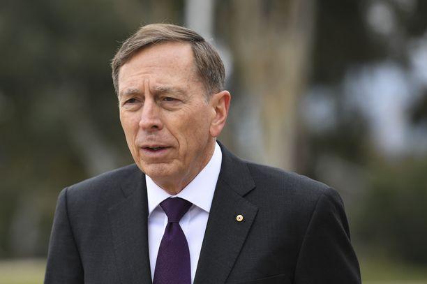USA:n armeijan eläköitynyt kenraali David Petraeus pelkää, että päätös vetäytyä Afganistanista kaduttaa myöhemmin. Kuva otettu vuonna 2019.