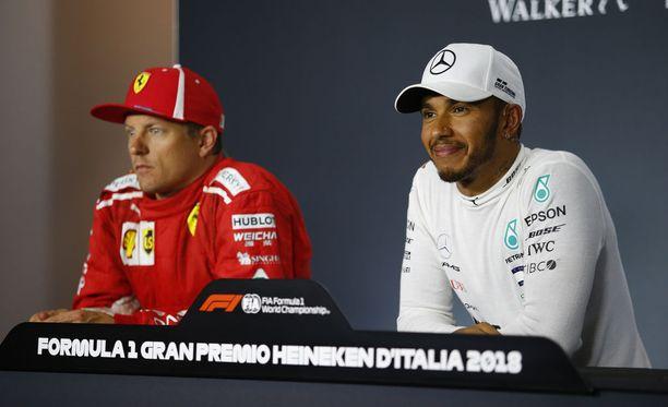 Lewis Hamiltonilta kysyttiin Italian GP:n lehdistötilaisuudessa, tuleeko hän kaipaamaan Kimi Räikköstä sen jälkeen, kun tämä lopettaa F1-uransa.