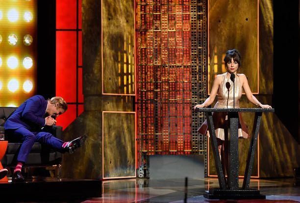 Natasha Legerro sai Justin Bieberin repeämään.