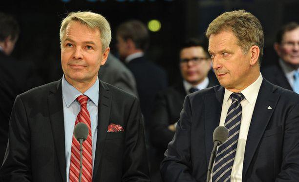 Pekka Haavisto on kansan suosikki presidentti Sauli Niinistön haastajaksi.