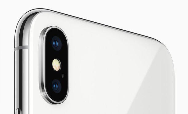 Tuleva Iphone X voi olla tehojen puolesta voittaja. Kuvassa Iphone X.