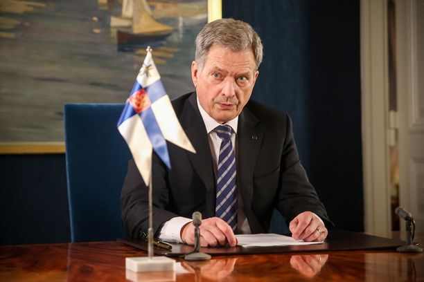Tasavallan presidentti Sauli Niinistö piti kuudennen uudenvuodenpuheensa maanantaina 1. tammikuuta.