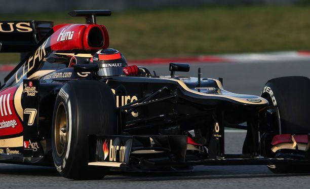 Kimi Räikkönen sijoittui viime kaudella kolmanneksi MM-taistossa.