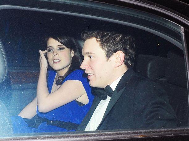Prinsessa Eugenie ja Jack Brooksbank ovat pienen August-pojan vanhempia.