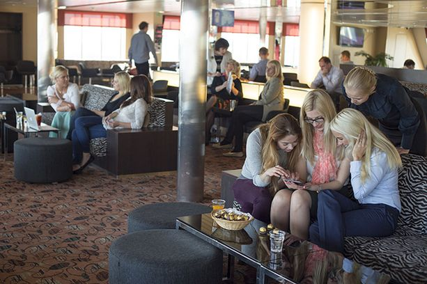 Tallink Starin Comfort Lounge.