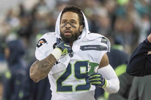 Earl Thomas on voittanui Super Bowlin Seattle Seahawksin riveissä.