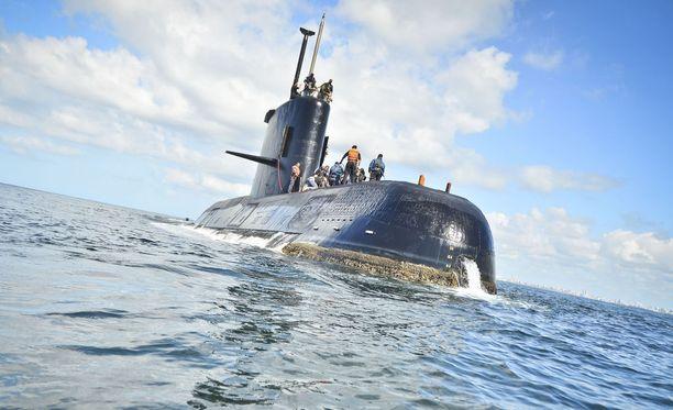 Argentiinalainen sukellusvene katosi viime viikolla, eikä siihen ole saatu yhteyttä.