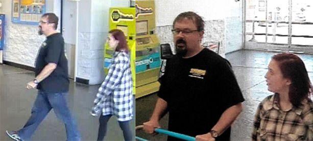 Tad Cummins ja Elizabeth Thomas nähtiin yhdessä Walmartissa Oklahoma Cityssä.