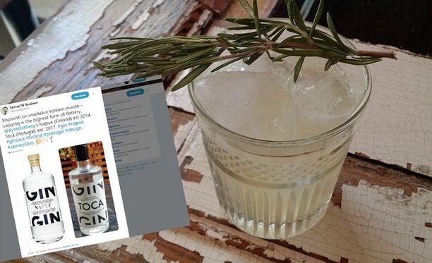 Napuesta tehdään suosittujaa Gin Toniceja.