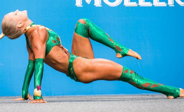 Oona Ylitolonen sijoittui viidenneksi MM-kisoissa.