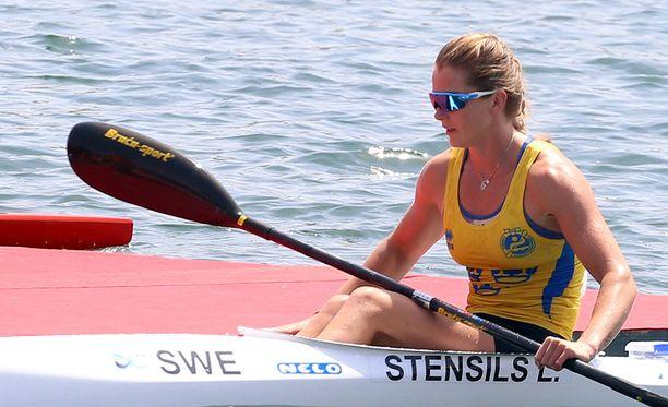 Meloja Linnea Stensils oli yksi vaatemalleista. Hän edusti Ruotsia vuoden 2016 olympialaisissa.