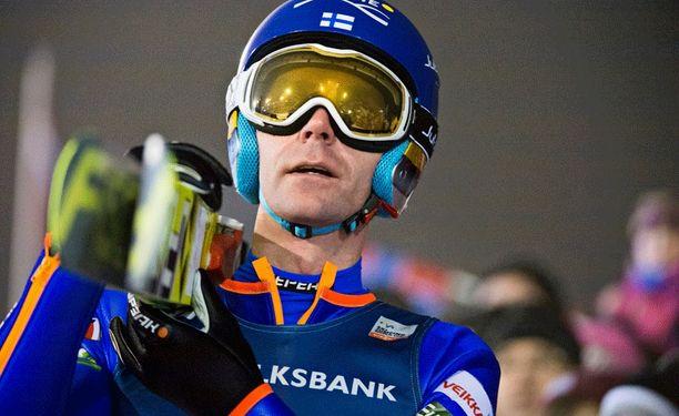 Janne Ahosta ei nähdä tällä kertaa Keski-Euroopan mäkiviikolla.