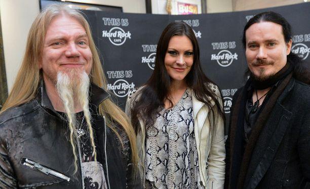 Tuomas Holopainen sanoo tiedotteessa, että keikka Wembley Arenalla on Nightwishille unelmien täyttymys.