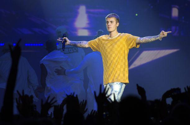 Justin Bieber esiintyi Hartwall-areenalla syyskuussa 2016.