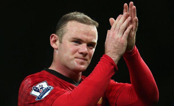 Verkko venyy, United johtaa liigaa ja hiukset sen kuin tuuhenevat – tältä näyttää Rooney joulukuussa 2012.