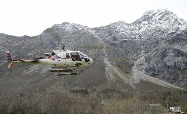 Mannen-vuoren on ennustettu romahtavan jo lähes kymmenen vuoden ajan. Vuori on kuitenkin sitkeästi pysynyt pystyssä. Kuva vuodelta 2014.