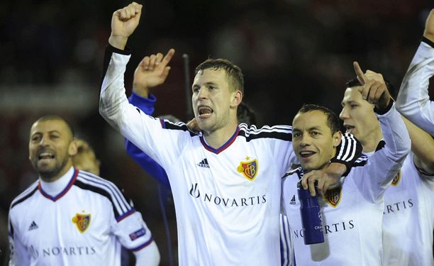 Basel juhli Anfieldillä.