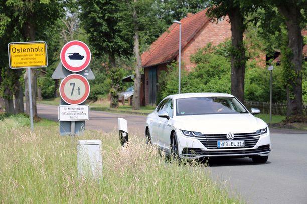 Saksa on suosittu autoloman kohde.