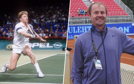 """Boris Becker muistelee Iltalehdelle suomalaista tennislegendaa: """"Hänellä oli hassu tyyli pelata"""" – Veli Paloheimolta loistava vastaus!"""