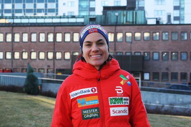 Norjan huippuhiihtäjä Heidi Wengillä on faneja myös Ruotsissa.