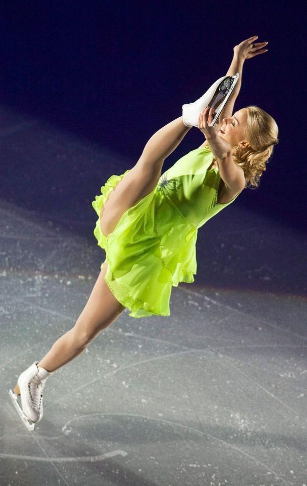 Taitoluistelun EM-kilpailut Helsingissä 2009, loppunäytös.