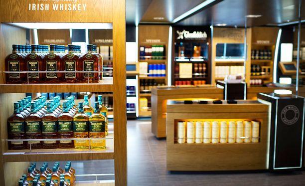 Viking Linen valikoimiin kuuluu tavanomaisten tuotteiden lisäksi myös erittäin kalliita viinoja. Kuva Viking Gracelta.