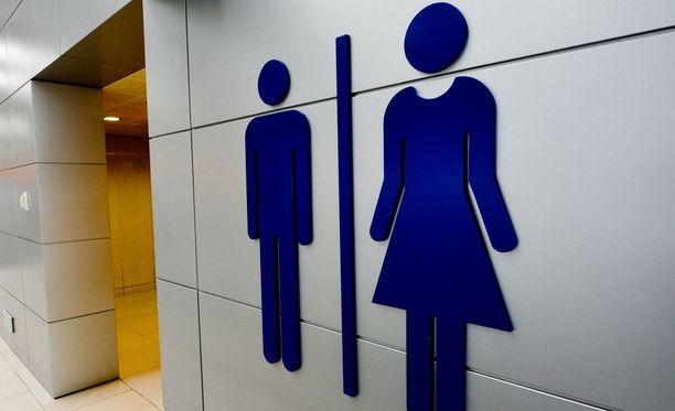 Naiset kertovat selviävänsä työpaikan vessareissuista nopeammin kuin miehet.