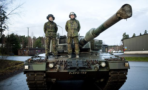 Leopard 2A4 on Suomen panssarivoimien pääase.