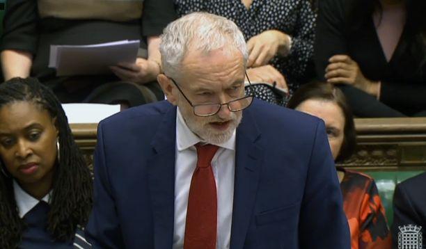 Työväenpuolueen puheenjohtaja Jeremy Corbyn kannattaa uusia vaaleja.