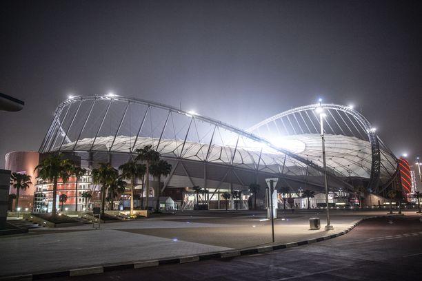 Yleisurheilun MM-kisat järjestetään Khalifa-stadionilla Dohassa.