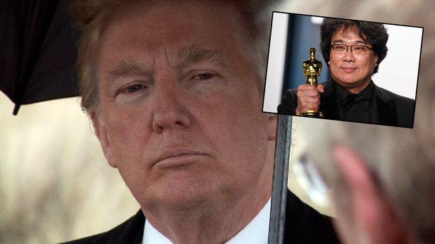 Trump ei sulattanut Boon Jong-Hon ohjaaman Parasiten Oscar-voittoa.