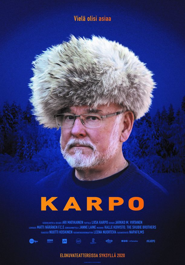 Ari Matikaisen ohjaama dokumenttielokuva Hannu Karposta vie katsojat kulissien taakse.