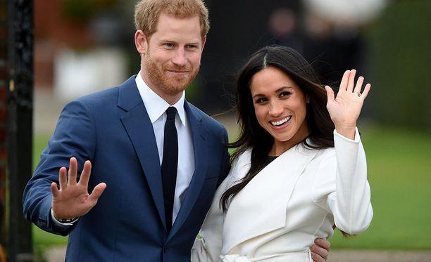 Prinssi Harry ja Meghan Markle valitsivat itse sormusten tekijän.