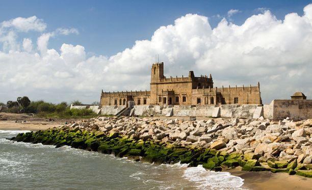 Dansborg Fort oli aikanaan suurimpia tanskalaisia linnoituksia.