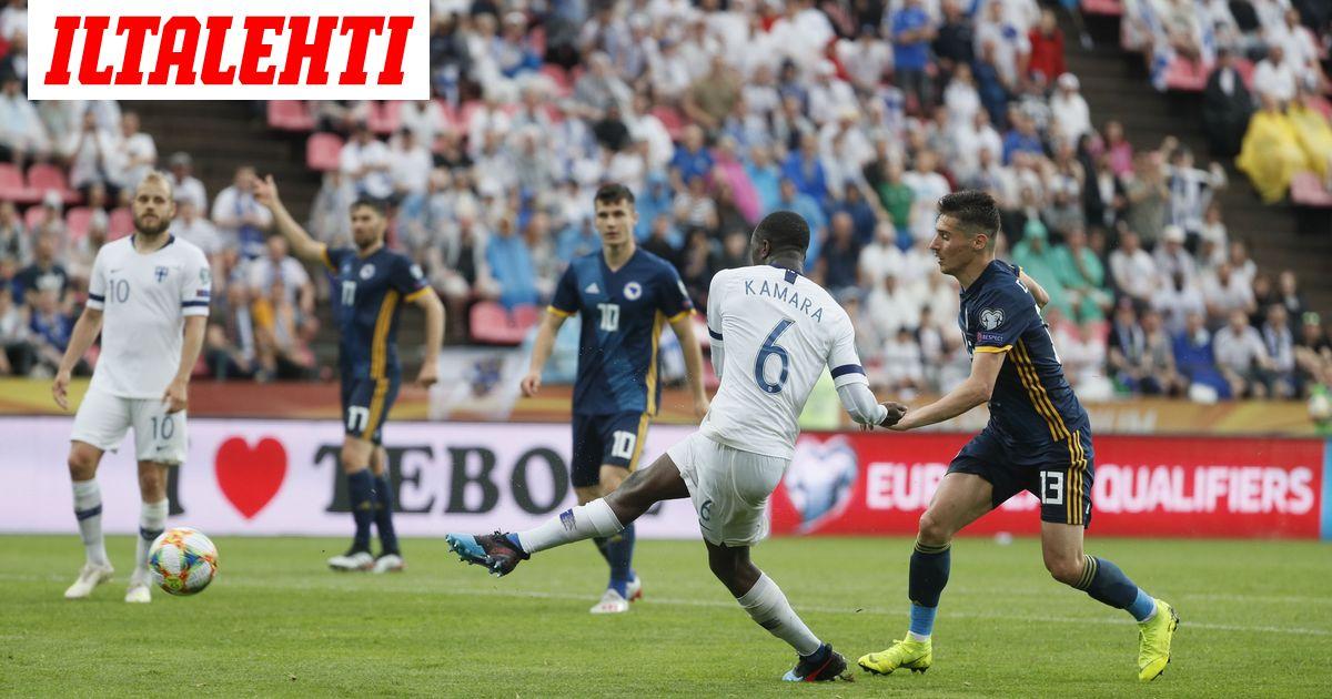Suomi Bosnia Jalkapallo