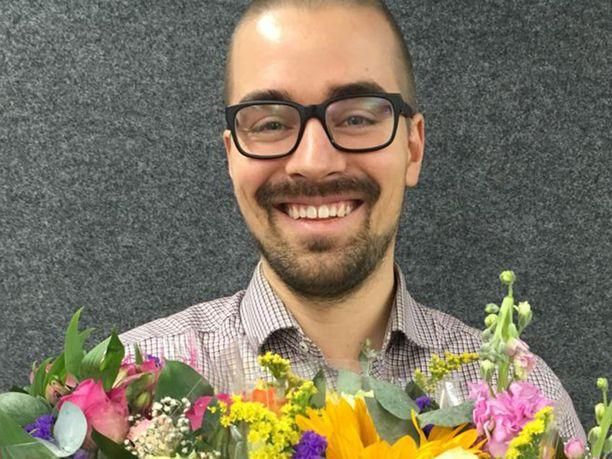 Lidlin kukkaostaja Ville Oinoselle äitienpäivä on yksi vuoden merkittävimmistä sesongeista.