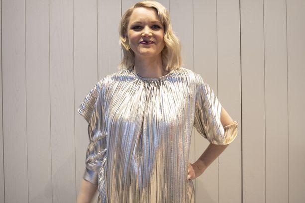 Anna-Maija Tuokko on raskaana.
