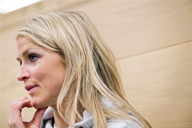 Therese Johaug on kärsinyt 18 kuukauden kilpailukieltonsa.