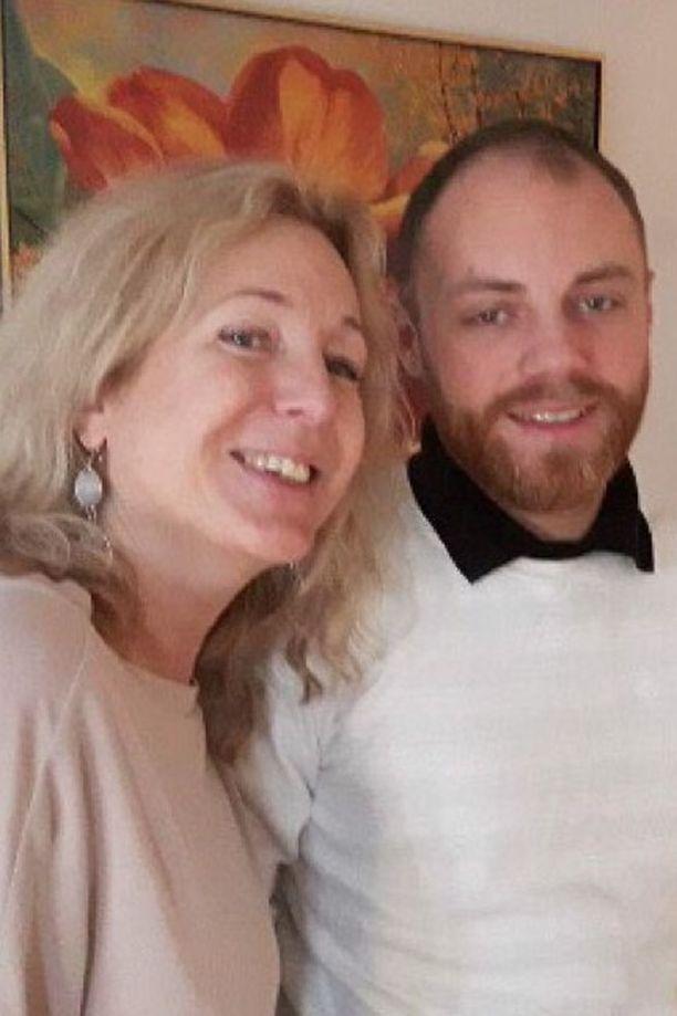 Eva Färjsjö ja Oliver-poika olivat läheisiä.