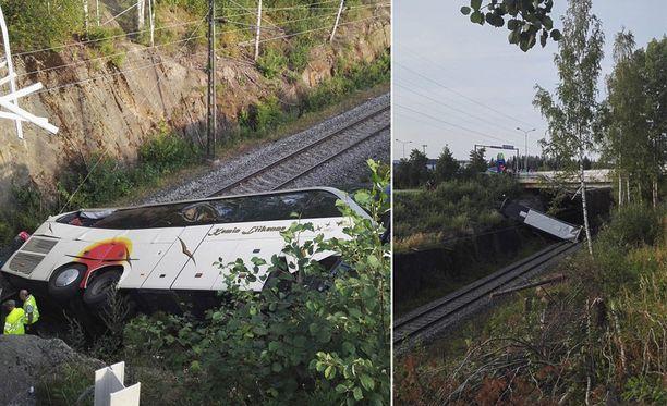 Traaginen bussionnettomuus tapahtui Kuopiossa elokuun 24. päivä.