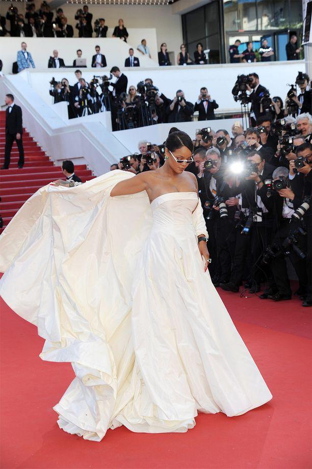 Rihanna Cannesissa viime viikolla.