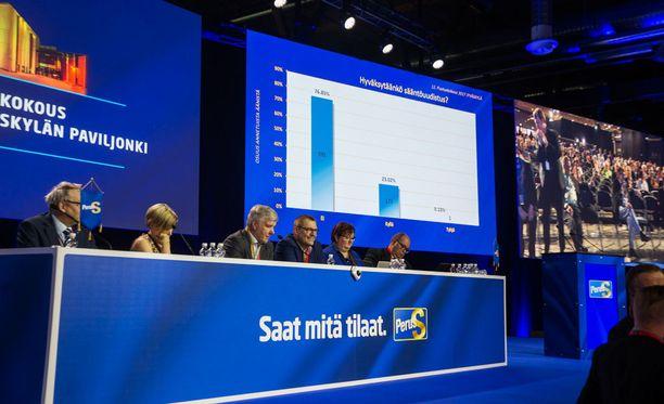 Perussuomalaisten puoluekokous oli viime viikonloppuna Jyväskylässä.