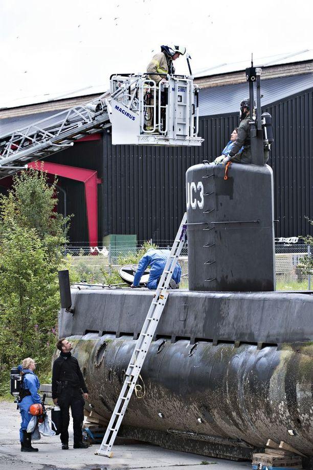 Madsen upotti sukellusveneen tahallaan.
