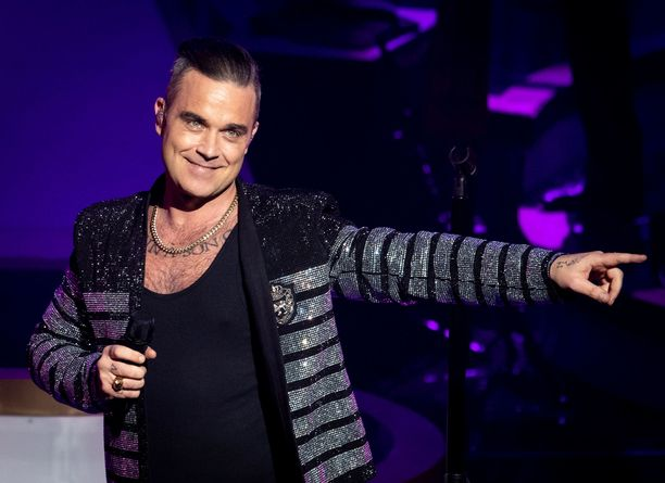 Robbie Williams ei omista kännykkää.
