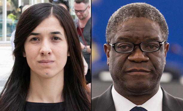 Nadia Murad ja Denis Mukwege.