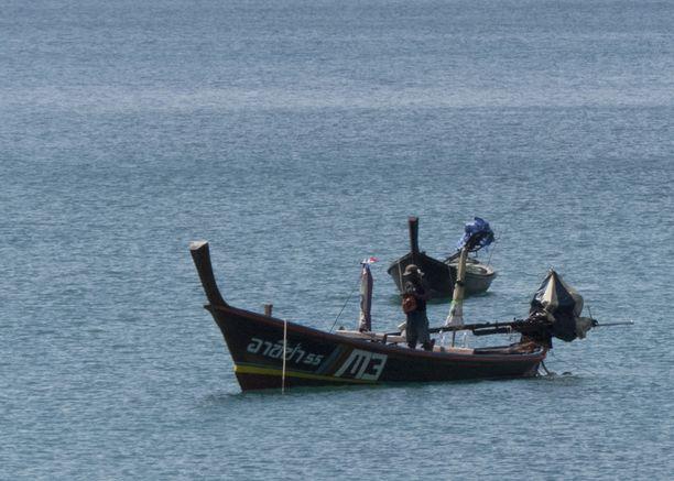 Patongin Freedom Beachille pääsee vain pitkähäntäveneellä.